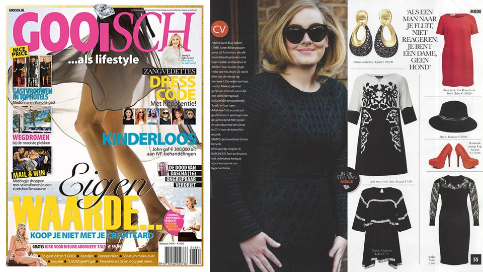 Yoek Plus Size Fashion in Gooisch Magazine