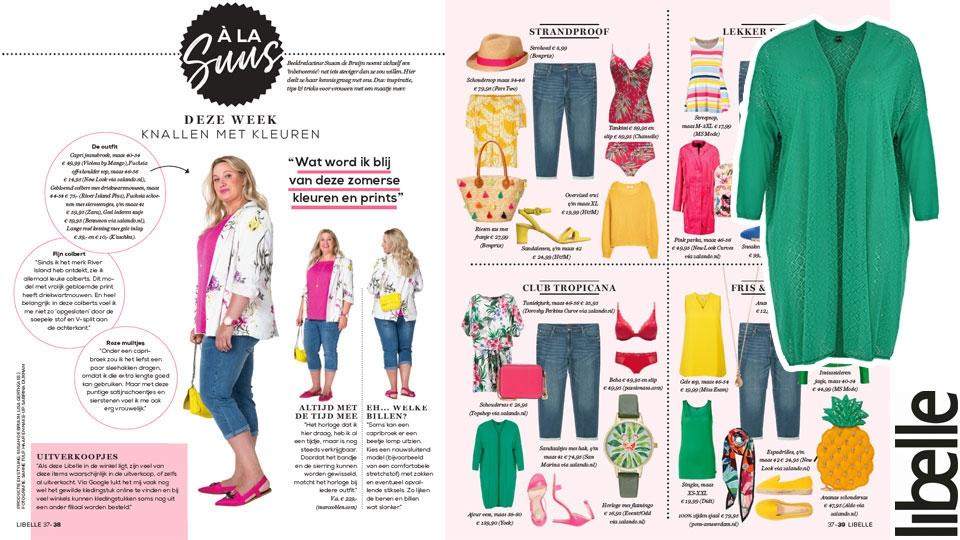 Yoek in Libelle Magazine