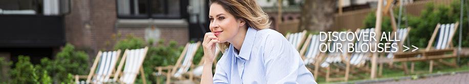 Yoek inspiration - plus size blouses